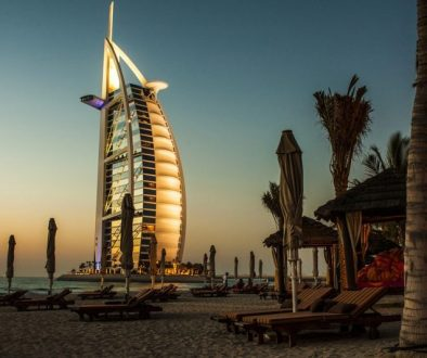 If you're planning luxury vacations, they must include luxury hotels, such as this over-the-top 7-star Burj Al Arab Jumeirah in Dubai.