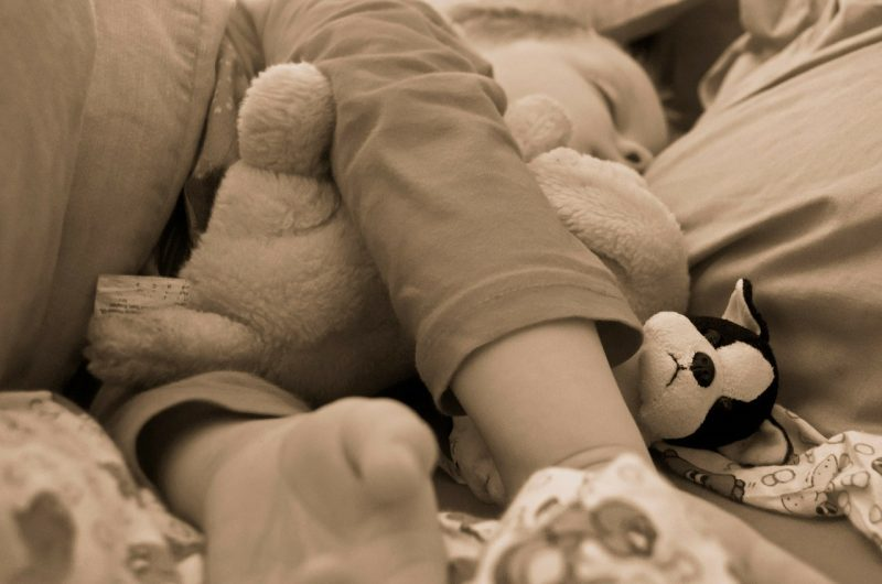 Ensure both you AND your child get a good night's sleep when traveling by bringing their favorite stuffed animal.