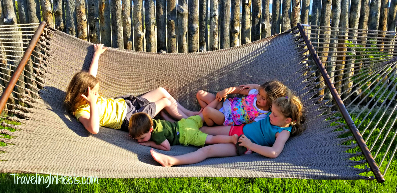 For your next camping vacation, bring along a hammock (or use one near your Royal Gorge Cabins), set it up for the kids and get ready to listen to good ol' fashioned belly laughs.
