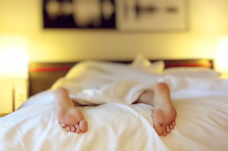 Get a good night's sleep to become happy and healthy in the New Year.