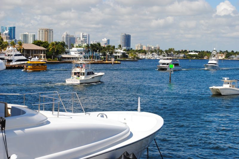 Take a cruise -- one of the many things to do in Fort Lauderdale, Florida.