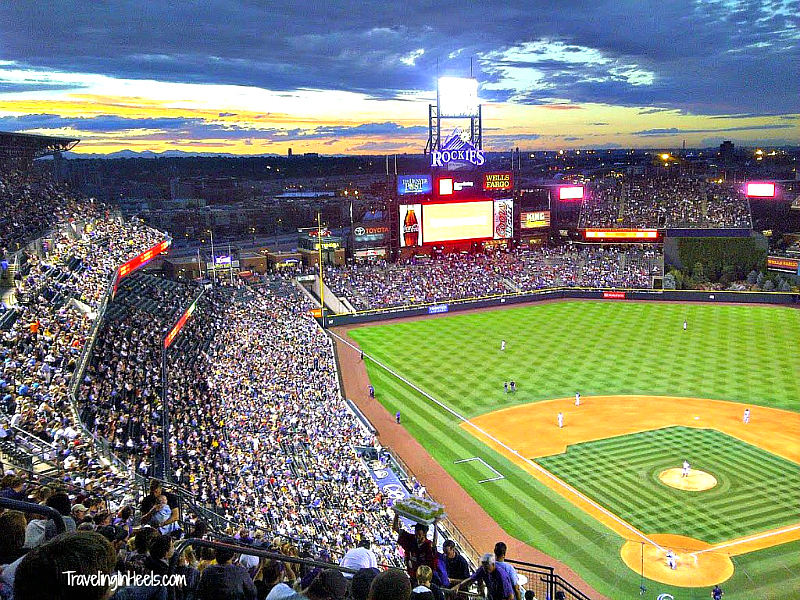 Whether a baseball fan or not, opening day of Colorado Rockies in April is always one of many Denver events not to miss.