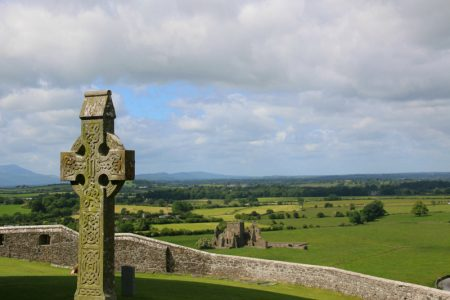 Rock of Cashel High Cross Ireland Photo: Vagabond Tours