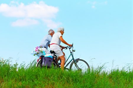 Get back on that bicycle and stay active after 50. Or rent bikes when traveling to explore your destination.