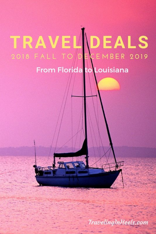 From Florida to Louisiana, #falltraveldeals #hotels #resorts