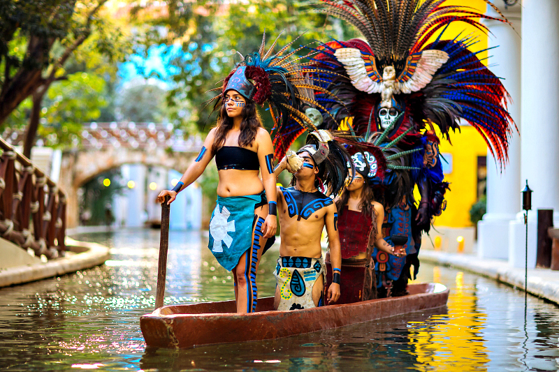 The Occidental at Xcaret Destination The resort is also adjacent to Xcaret eco-archaeological park, with over 40 cultural attractions and exhibitions. Photo credit: Occidental at Xcaret