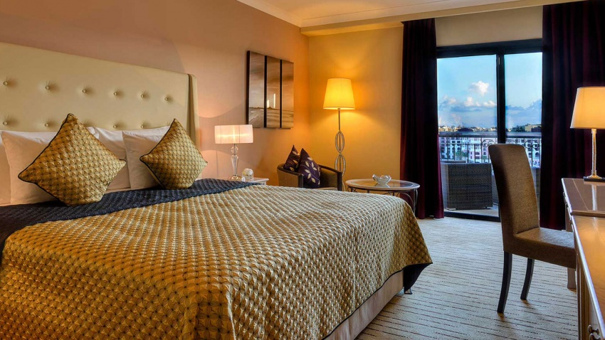 Experience the best of coastal Malta with a stay at Corinthia Hotel St George's Bay.