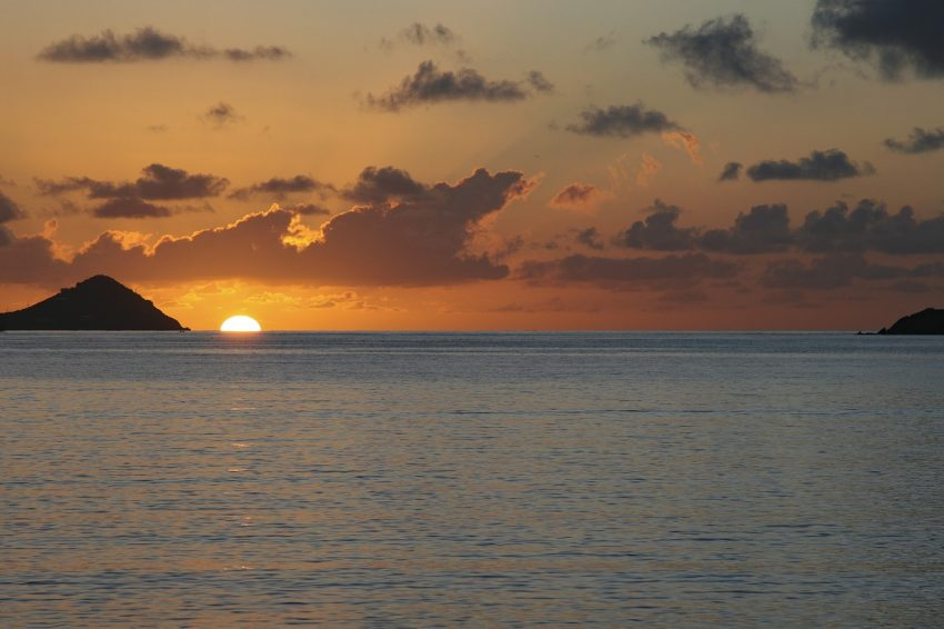 Not to miss -- the sunsets on St. Thomas Virgin Islands U.S.