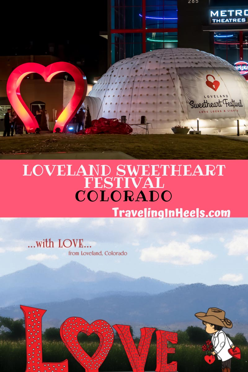 From love locks to romantic stays, Colorado's Loveland Sweetheart Festival returns again to keep the romance in Valentine's Day. #lovelandsweetheartfestival #colorado #lovelandcolorado #romanticgetaways
