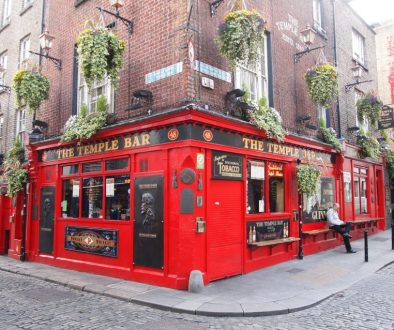 No better place to sample a Guinness than at a pub in the Temple Bar area of Dublin, Ireland