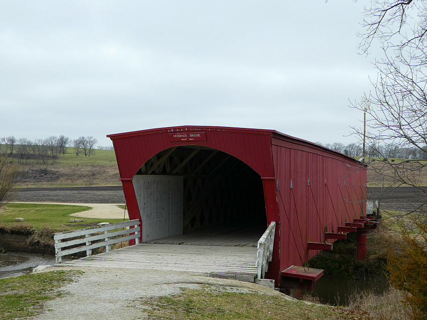 Hogback Bridge is one of the 19 original Bridges of Madison County Iowa.