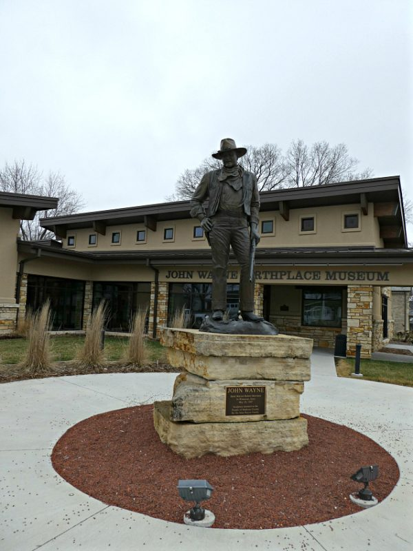 Take your buckaroos to visit the John Wayne Birthplace & Museum, located steps from the historic town square of Winterset, Iowa. #wintersetiowa #johnwaynebirthplace