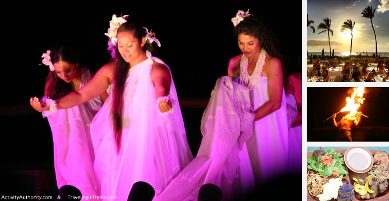 One of the must-do things is to do with kids in Maui is take themto a luau.