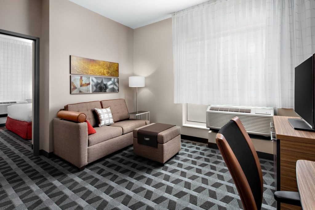 A romantic stay in downtown Loveland at the new TownePlace Suites Loveland.