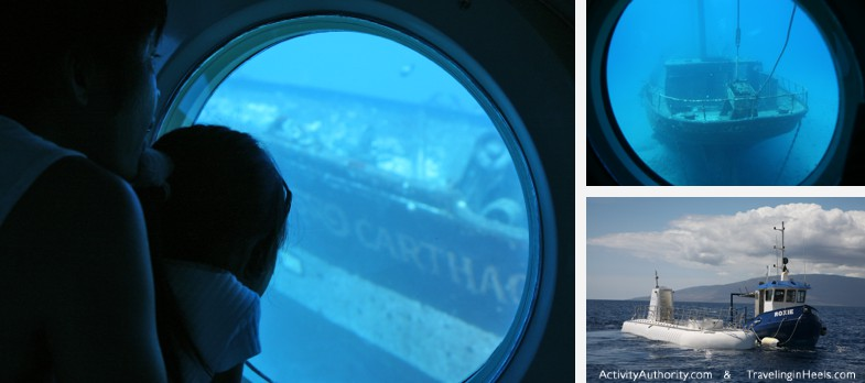 Explore beyond the surface of the Pacific Ocean by going underwater in an Atlantis Submarine.