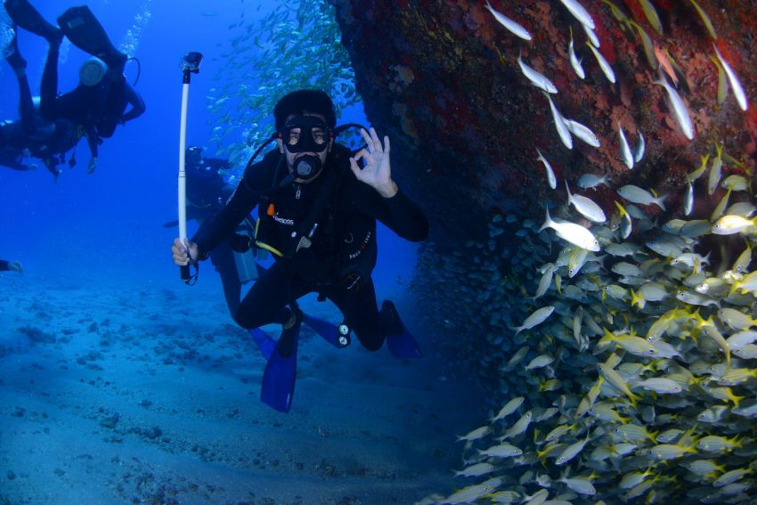Numerous studies show that lung capacity may not be a deterrent to older divers.