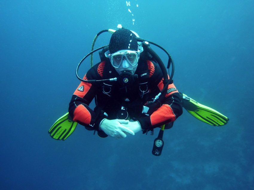 Is over 50 too old to dive? Research reveals that isn't always true.