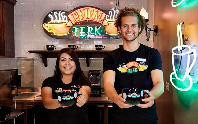 At Stage 48: Script to Screen, visit our working replica of the Central Perk Café from the hit TV show Friends! Photo Credit: Central Perk Cafe & Store