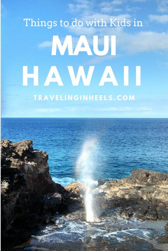 From surf lessons to cultural activities, 10 fun things to do with kids in Maui. #thingstodowithkidsinMaui #familytravel #familyvacation