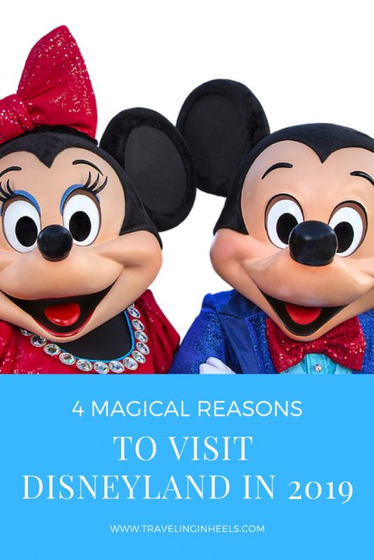From celebrating the perfect Mouse couple to Star Wars, read on for 4 magical reasons to visit #Disneyland in 2019. #disneyland #disneylandevents #disneylandevents2019 #familyvacation #disneyvacation