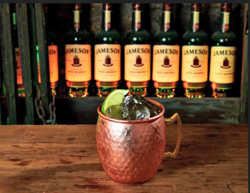 An Irish twist on a Moscow Mule - an Irish Mule.