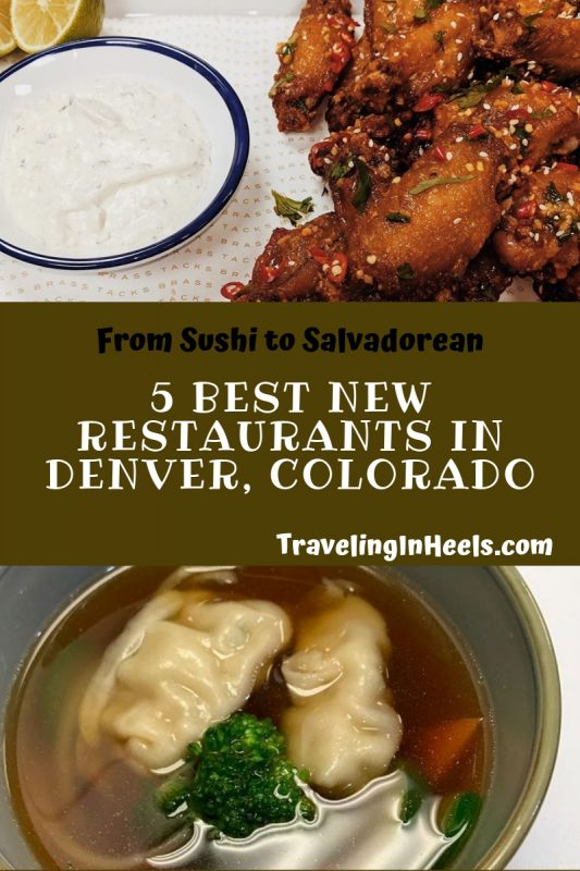 5 Best New Restaurants in Denver Colorado #bestrestaurantsinDenver #Denverrestaurants #denverfoodie