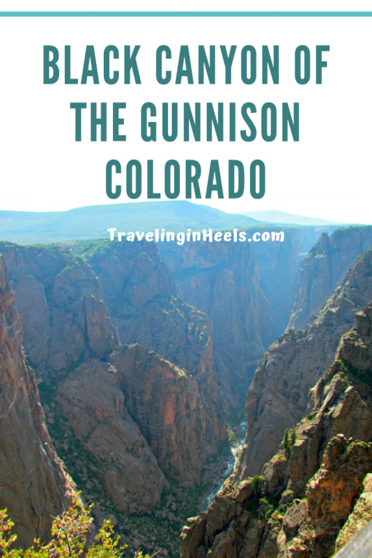 Explorethe Black Canyon of  the Gunnison National Park, Colorado's Grand Canyon #blackcanyonofthegunnison #colorado #nationalpark #familyvacation #multigentravel