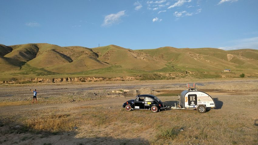 Take your family camper travel to off-road destinations.