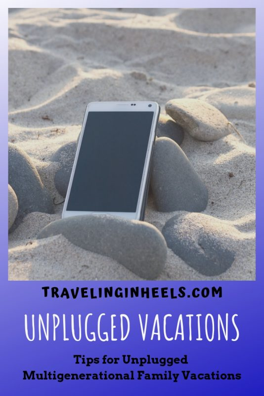 Tips for Unplugged Multigenerational Family Vacations #unpluggedvacations #familytraveltips #MyAlamoAdventure #ad