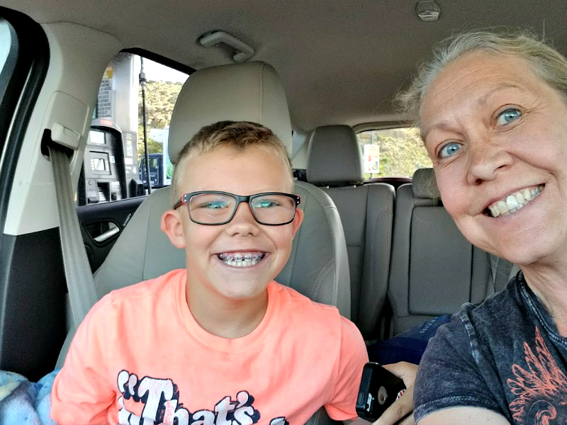 More than 3,000 miles roundtrip from Colorado to Oregon & back again with my grandson = lots of unplugged time and many memories.