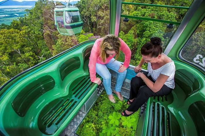 Photo credit Skyrail Rainforest Cableway