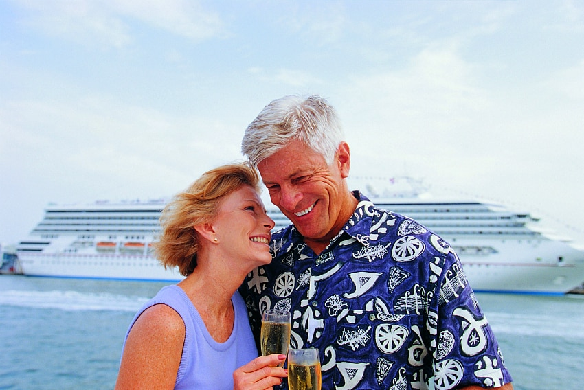 Get much needed alone time on these best cruises for couples over 50.