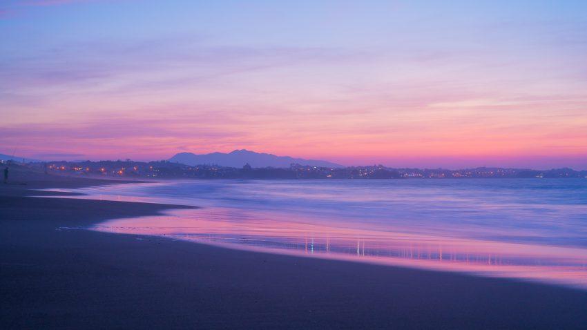 Fitzroy Beach, Fitzroy, New Zealand