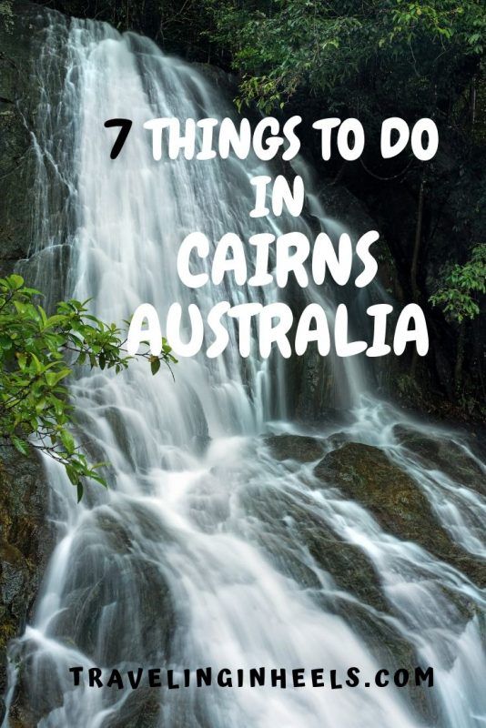 From rainforest to waterfalls, discover these 7 things to do in Cairns, Australia #cairnsaustralia #thingstodoincairns #familyvacation