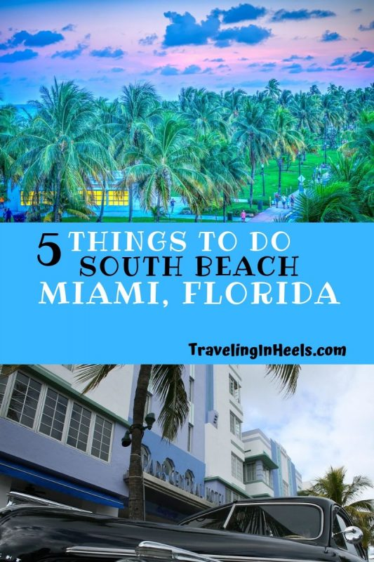 From the beaches to Ocean Drive and Art Deco buildings, we've got 5 things to do at South Beach, Miami, Florida #southbeach #southbeachmiami #floridatravel #familyvacation #multigentravel