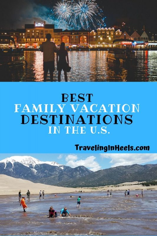 Best #FamilyVacation Destinations in the U.S. #multigenerationaltravel From Florida to California, #WaltDisneyWorld to #Disneyland, Colorado to Maine, and places in between