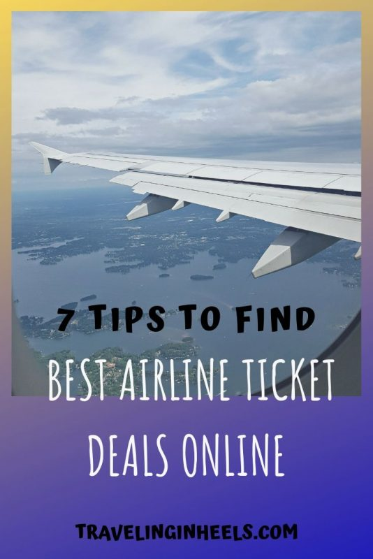 Tips to Find the Best Airline Ticket Deals Online #traveltips #airlineticketdeals #familytraveltips #familyvacation #multigentravel
