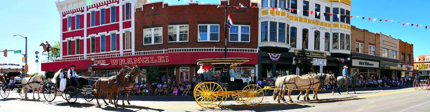 My family loves an parade, especially an Old West themed one during Wyoming's Cheyenne Frontier Days.