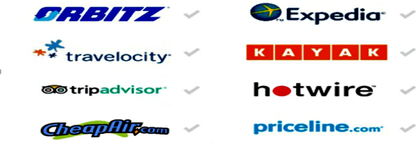 Go incognito and then compare prices on different search engine platforms to find the best airline ticket prices.