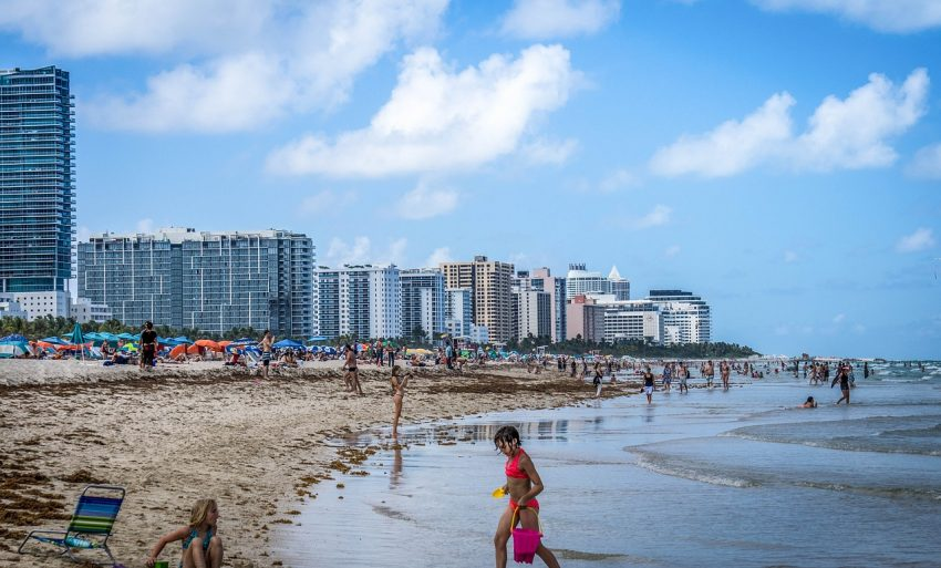 Beaches are #1 of things to do at South Beach, Miami, Florida, and perfect for family vacation and multigen travel.