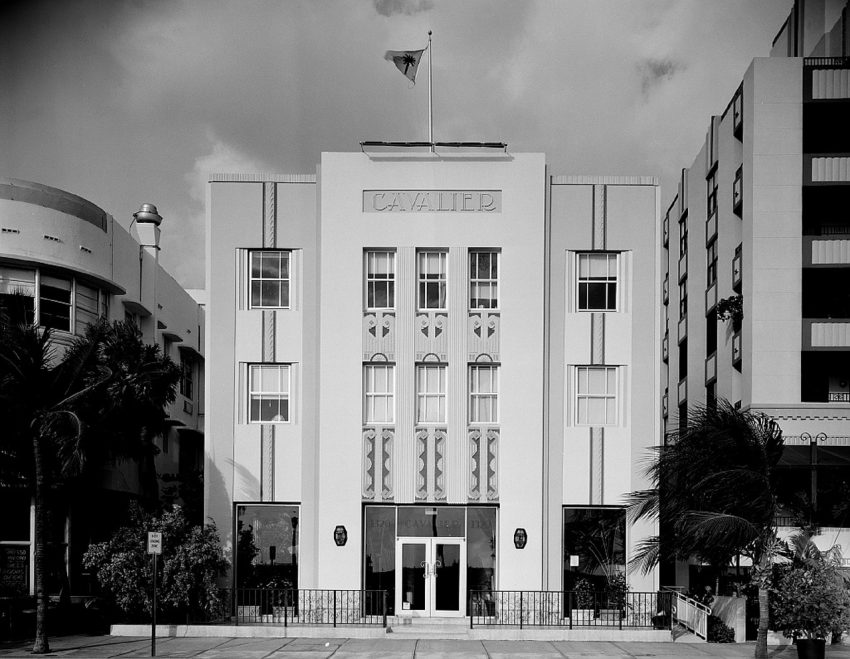 check out the art deco buildings in South Beach, Miami, Florida, along Ocean Drive.