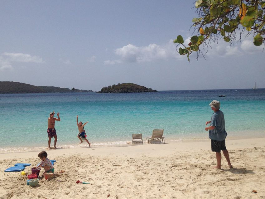 The smallest of the 3 islands, St. John makes the list of the best family travel destinations in the U.S.