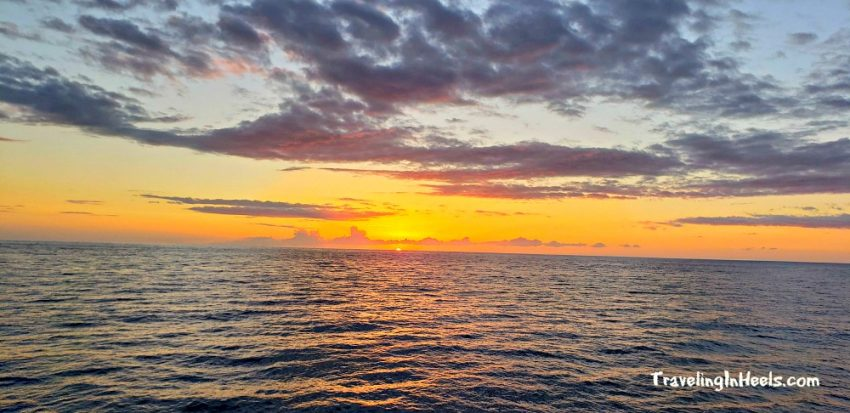 A sunset cruise in Kona was the highlight of our multigenerational family vacation on the Big Island of Hawaii.