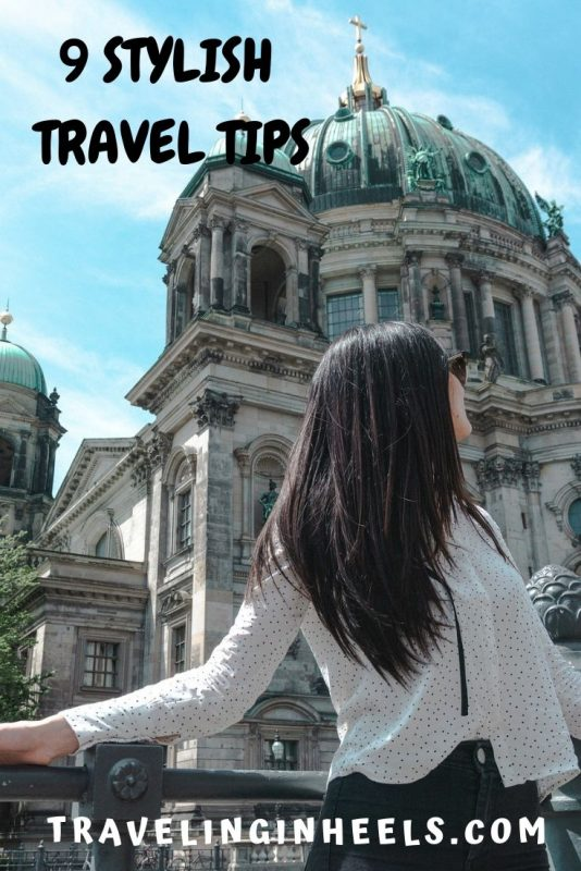Look good on your vacation with these 9 easy stylish travel tips #traveltips