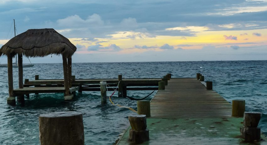 Imagine you and your next multigenerational family vacation here, Cozumel, Mexico, relaxing and enjoying the sunset.