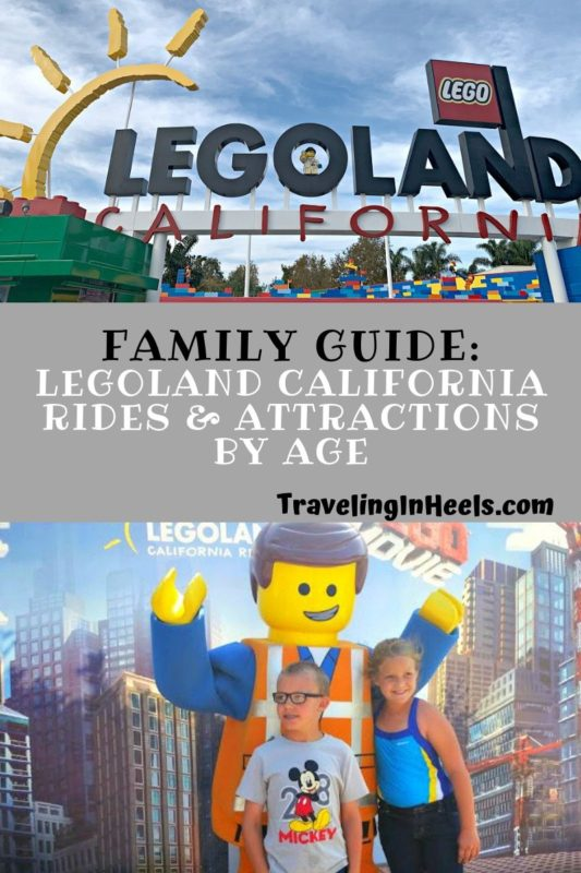 Family Guide to LEGOLAND California Rides and attractions #LEGOLANDcalifornia #LEGOLANDcaliforniathemepark #familyvacation #familyguideLEGOLAND #LEGOLANDfamilyguide #familyvacation #multigentravel