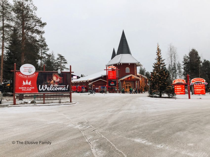 Kids will visiting the official town of Santa Clause in the region of Lapland, Finland.