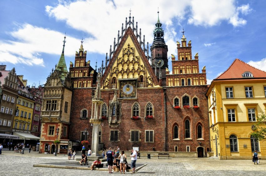 Another beautiful city in Poland, Wroclaw, is a top pick for international multigenerational family travel destinations