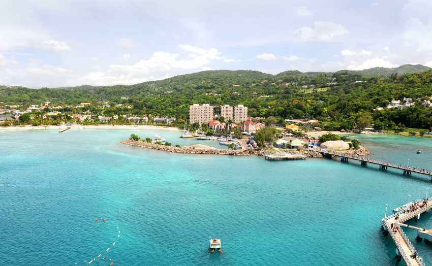 A beautiful sunny day in Ocho Rios in Jamaica, one of the best international family vacation destinations for multigenerational travel.