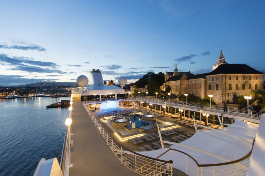 Azamara Club Cruises are one of the best luxury cruises for women!